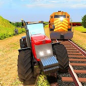 Game Train Vs Tractor Racing 3D APK for Windows Phone