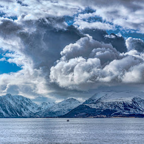 Stormclouds by Benny Høynes - Landscapes Cloud Formations ( stormy, clouds, cloud formations, nature, norway )