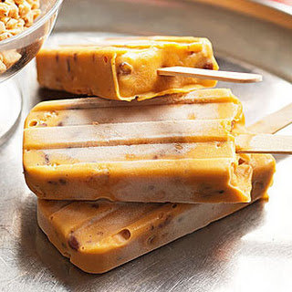 Butterscotch Brickle Pudding Pops