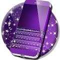 Keyboard Free Purple APK for Bluestacks