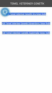 AÖF TEMEL VETERİNER GENETİK - screenshot