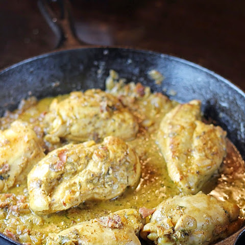 Chicken with Mustard and Prosciutto