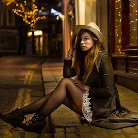 Zoe by Brian Pierce - People Portraits of Women ( night, truro, bokeh, zoe,  )