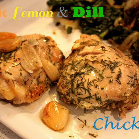 Garlic Lemon & Dill Chicken (gluten-free, dairy-free)