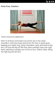 Yoga For Great Abs - screenshot