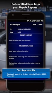 BlueDriver OBD2 Scan Tool Screenshot