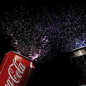 The ultimate double by Sebastian Weisshaar - Food & Drink Alcohol & Drinks ( coca cola, sony, water, cola, splash, explosion )