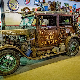 Sweet Sixteen by Dave Lipchen - Transportation Automobiles ( truck, old rusty )
