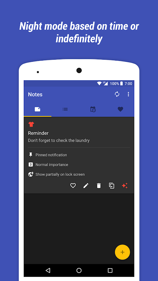 Collateral - Create Notifications Screenshot 3
