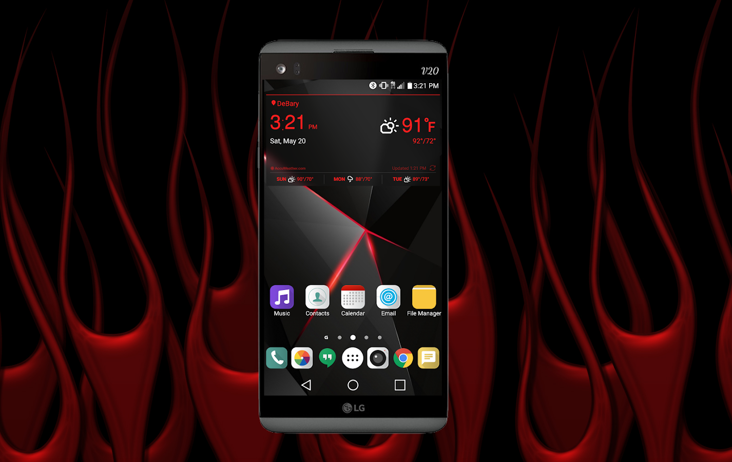 Ravished Theme LG G6 android apps download