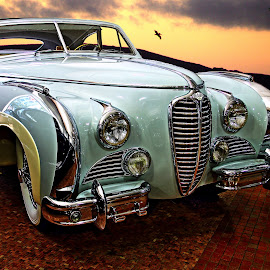 1949 Delahaye by JEFFREY LORBER - Transportation Automobiles ( lorberphoto, san francisco car, rust 'n chrome, delahaye, french car, jeffrey lorber, car photo )