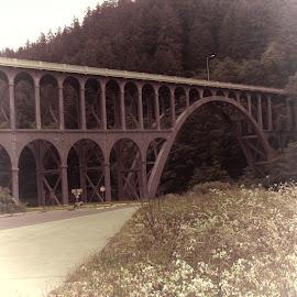 Bridge  by Faye Knighten - Buildings & Architecture Bridges & Suspended Structures ( bridge old fashion look )