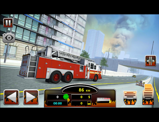 Fire Truck Simulator 2016 - screenshot