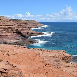 Kalbarri cliffs by Ester Ayerdi - Landscapes Travel ( cliffs, australia, cliff, kalbarri, western australia )