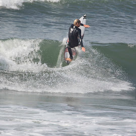 Exersicing Sufer by Ester/Hennie Snyman - Sports & Fitness Surfing