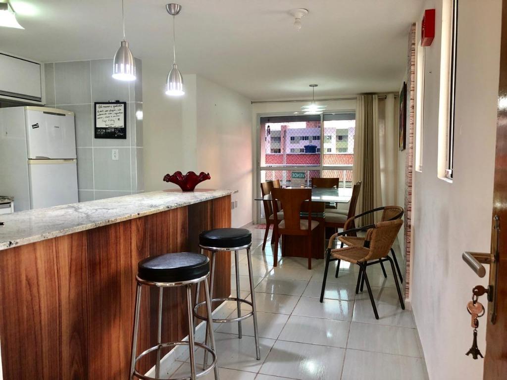 Apartamento com 3 dormitórios à venda, 75 m² por R$ 270.000 - Bessa - João Pessoa/PB
