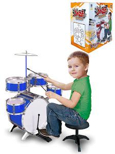 """Игровой набор серии """"Для творчества"""", ударная установка-барабан, Blue"""