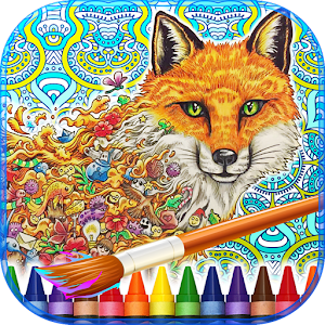 Download Android Game Animorphia Adult Coloring Book For Samsung