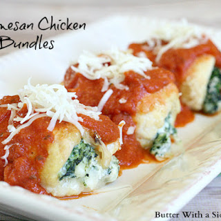 PARMESAN CHICKEN BUNDLES