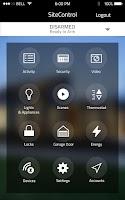 Screenshot of SiteControl Mobile