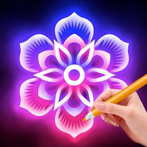 Doodle Master - Glow Art For PC / Windows 7/8/10 / Mac – Free Download