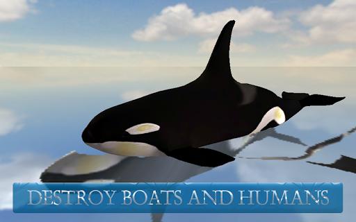 Whale Simulator 3D - screenshot