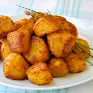 Barbecue Spice Roasted Potato Nuggets