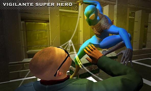 Super Spider Vs Mad City Mafia: Strange Hero Game apk screenshot