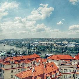 Prague Vltava by Đurica Bešlić - City,  Street & Park  Vistas
