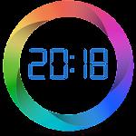 Alarm clock with cyclic alarms and calendar Icon
