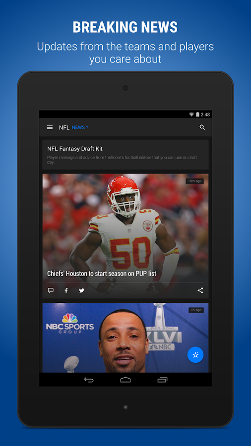 theScore: Sports Scores & News Screenshot 10