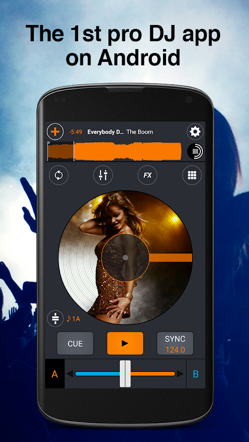 Cross DJ Pro Screenshot 0