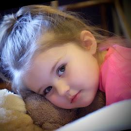Sweetness by Denise Langevin - Babies & Children Children Candids ( child, innocence, children, childhood, girl toddler )