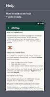 Screenshot of Train times, travel & tickets