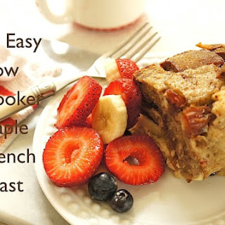 Slow Cooker Maple French Toast