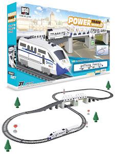 """Поезд серии """"Город Игр"""", железная дорога M, белый"""