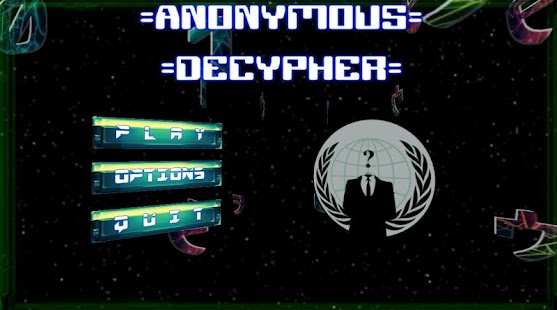 Anonymous Decypher - screenshot