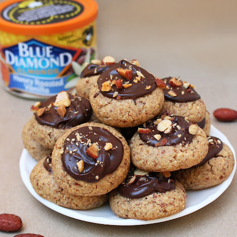 Healthier Almond Chocolate Cookies!