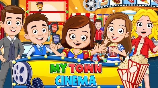 My Town : Cinema. Fun Movistar Kids Movie Night for pc