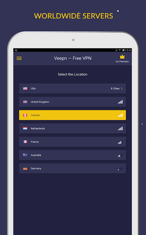 Free VPN by Veepn Screenshot 8