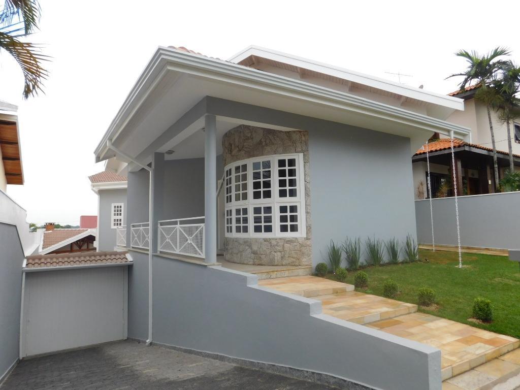 [Casa residencial para locação, Portal do Paraíso I, Jundiaí.]