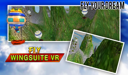Fly Virtual Reality Wingsuit For PC