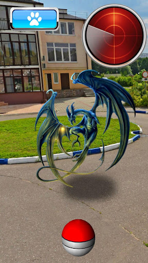 Pocket Dragon GO AR For PC