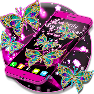 Butterfly Live Wallpaper App
