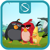 Download Android App Start Angry Birds- LockScreen for Samsung