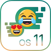 OS11 Emoji Keyboard for Phone 8 Icon