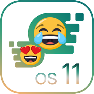 OS11 Emoji Keyboard for Phone 8