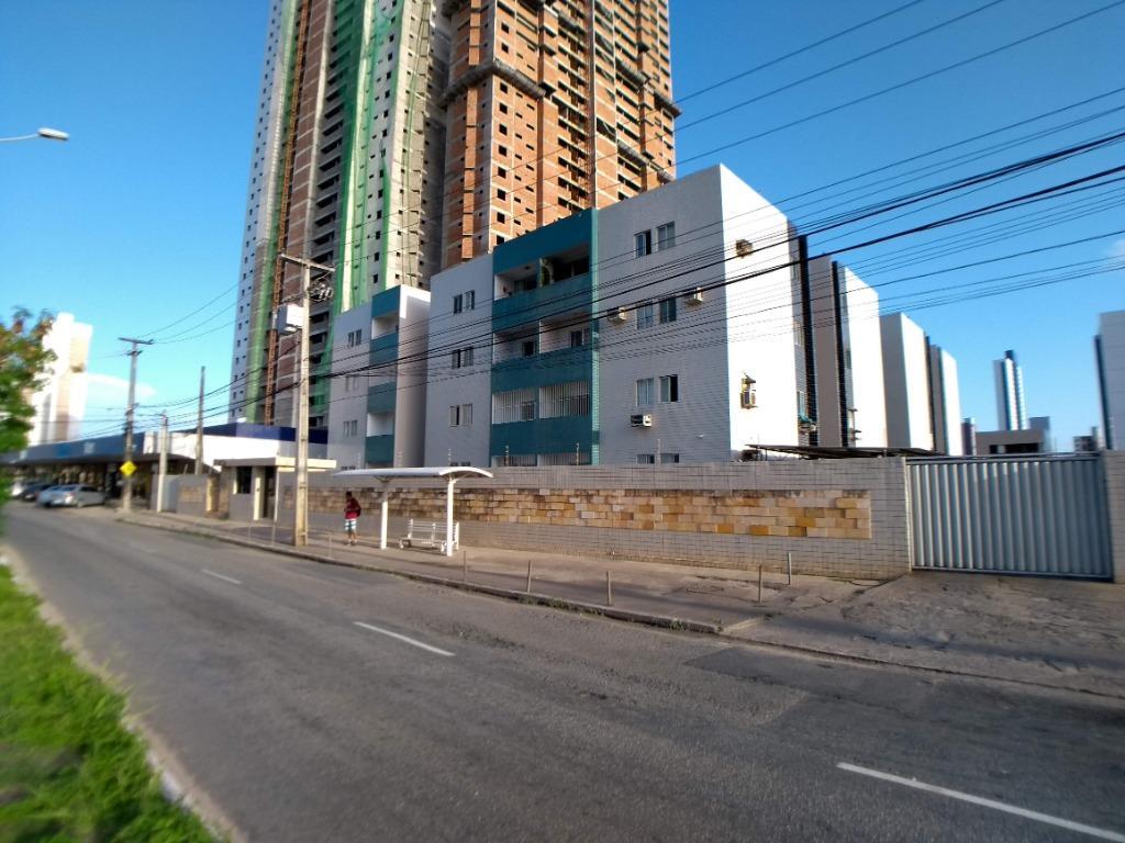 Apartamento com 3 dormitórios à venda ou locação, 68 m² por R$ 147.000 - Bessa - João Pessoa/PB