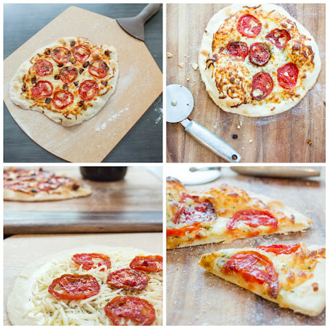 Candied Tomato Pizza