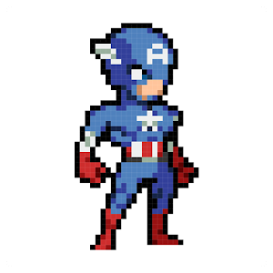 Color Pixel - Super Heroes For PC / Windows 7/8/10 / Mac – Free Download